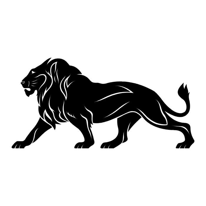 Татуировка лев означает силу и